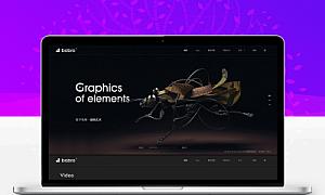 视频制作网站模板